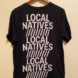 Local natives long short sleeve t